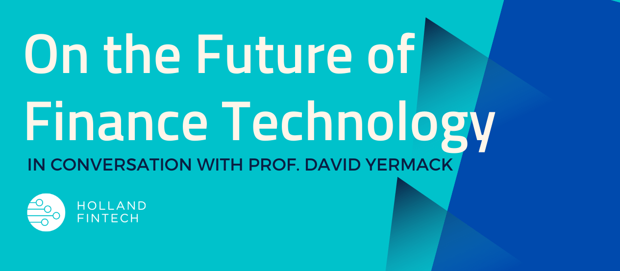 On the future of finance technology