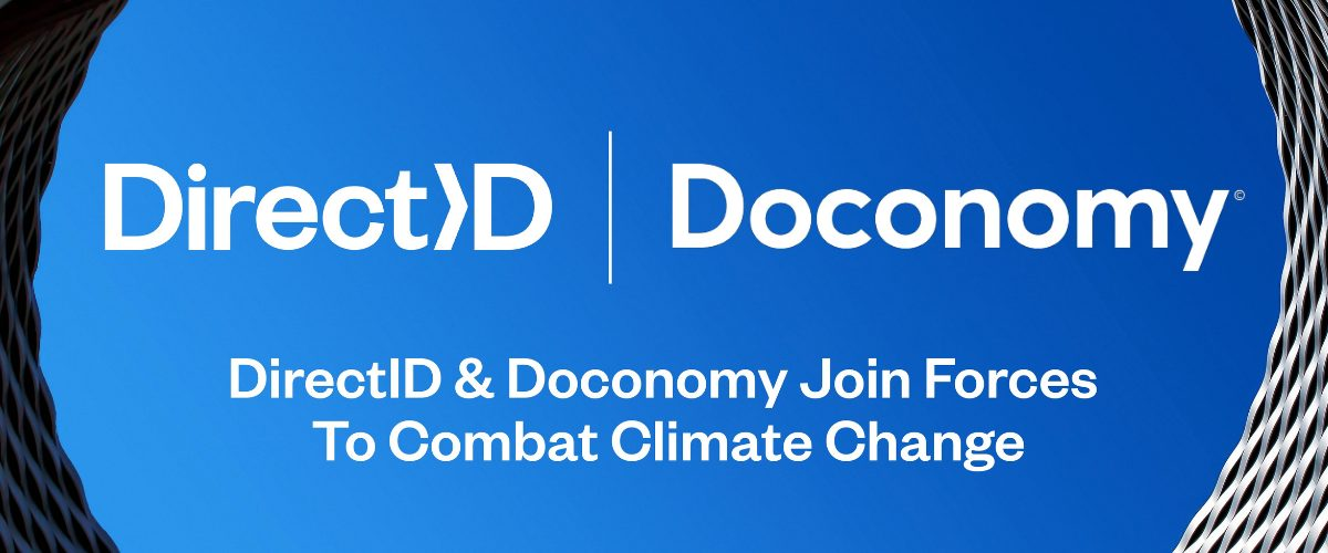 DirectID Partnership Announcement with Doconomy