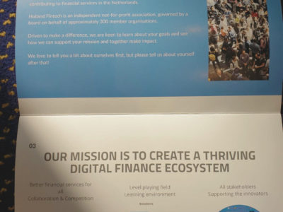 Day 2: Holland FinTech Association About